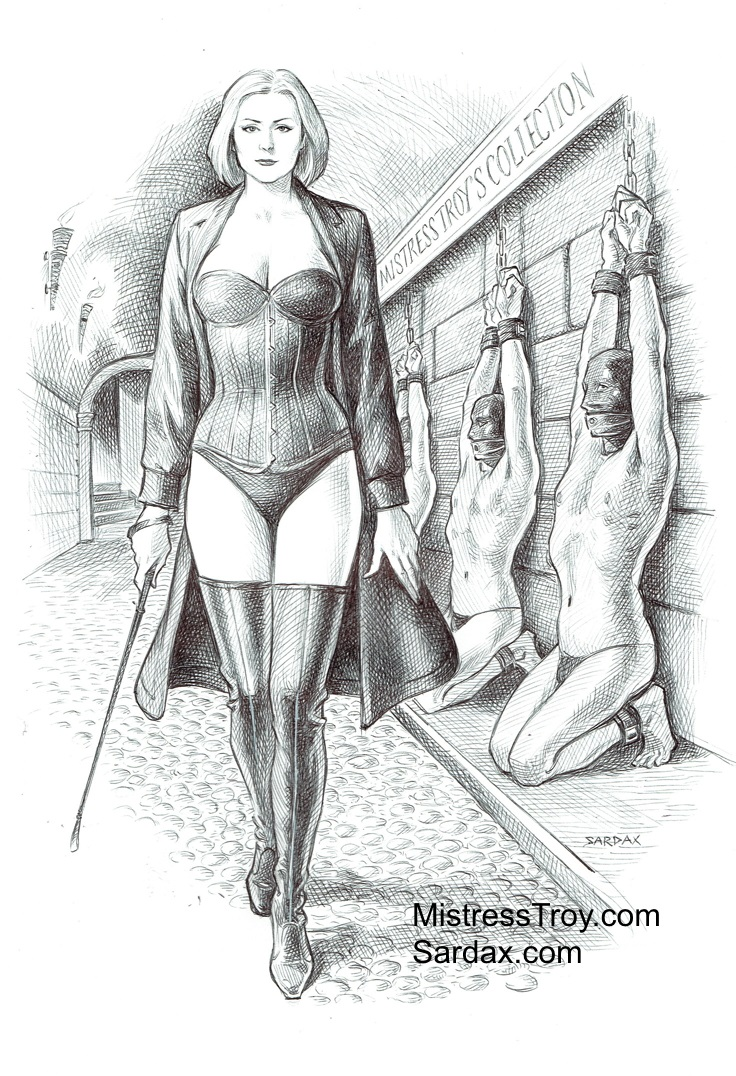 'Mistress Troy's Collection' by Sardax