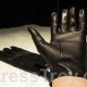 Mistress Troy's new Italian leather gloves