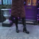 Mistress Troy in new platform boots from Varda, New York City