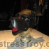 Mistress Troy's new WOOF! Muzzle from Mr. S Leather in San Francisco