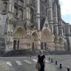 Mistress Troy sees lots of Cathedrals in France