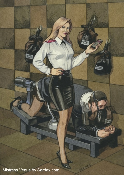 MISTRESS VENUS Dominatrix New York City by Sardax offers BDSM, fetish and femdom sessions for male slaves, submissives, 		 	masochists, and fetishists