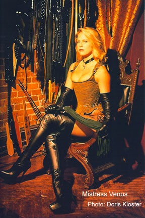 MISTRESS VENUS ProDomme New York NY BDSM, fetish and femdom sessions for male slaves, submissives, 		 	masochists and fetishists